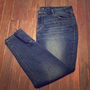 Plus Size Apt 9 Capris W/ Zipper Details